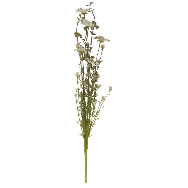 Ib Laursen Blomst nude med grønne nuancer